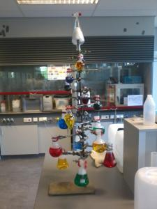 Chemistry Christmas Tree