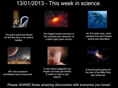 This Week in Science 20130113